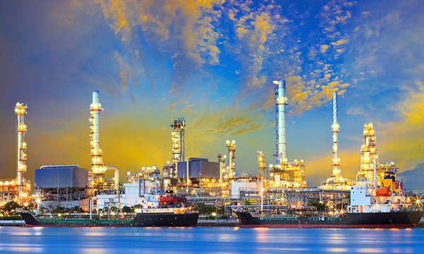 chemical refinery physical security