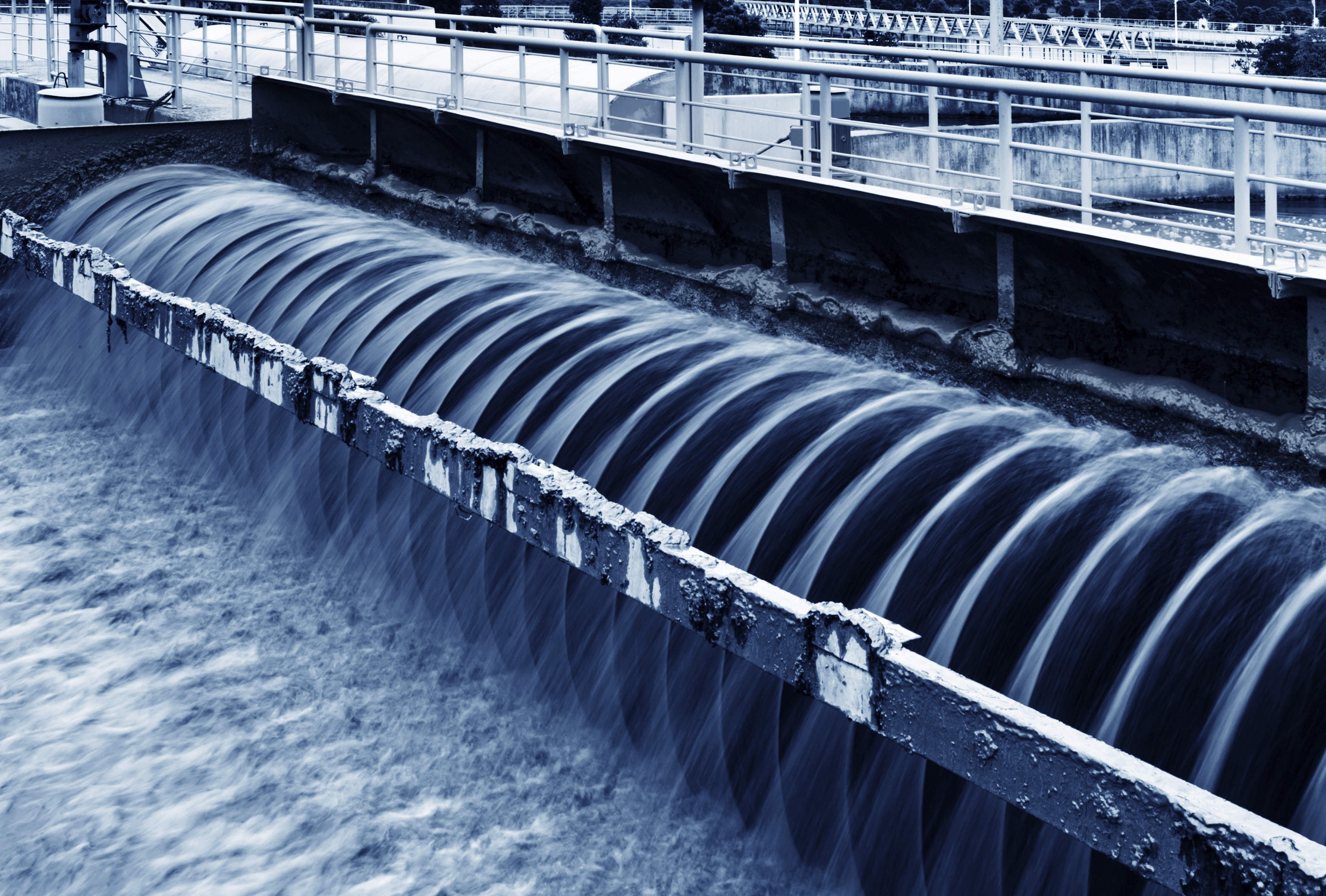 wastewater treatment plant physical security