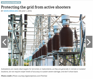 electrical grid security